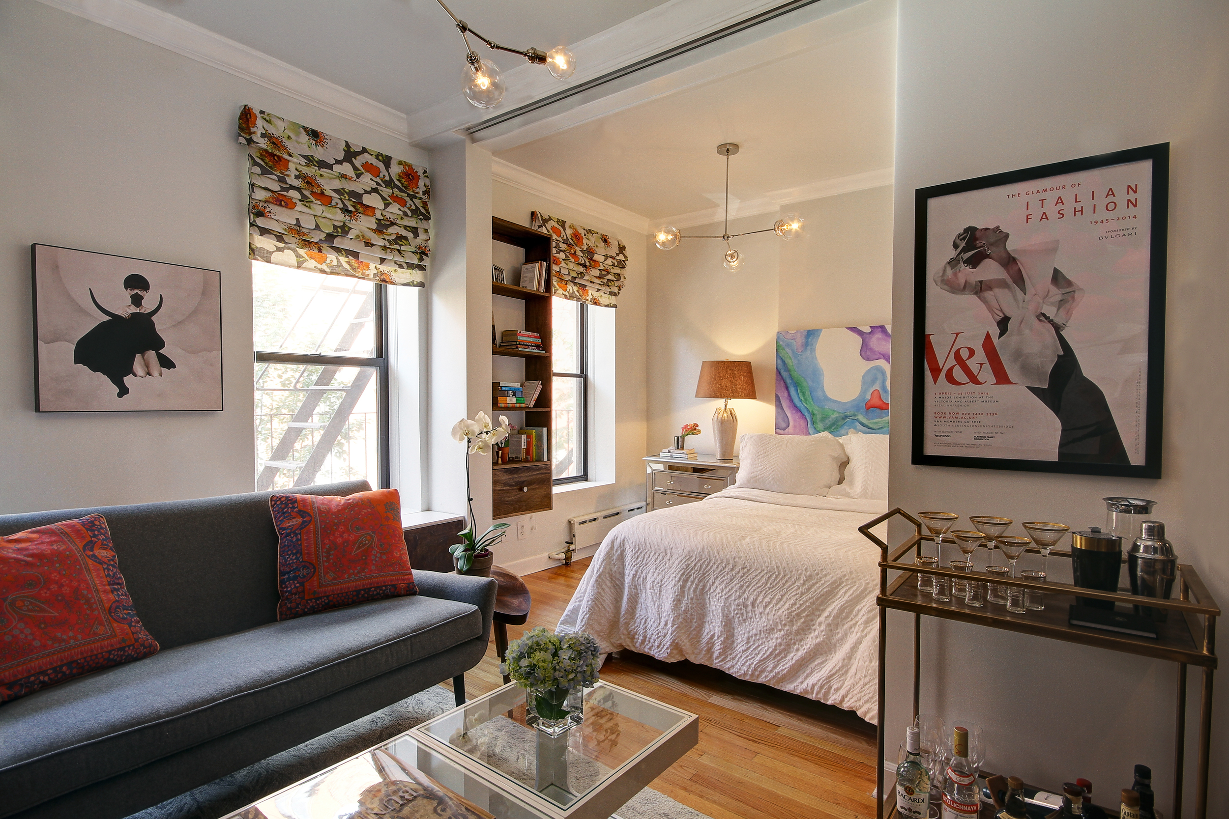 Chelsea Studio Apartment    (click on image for gallery)