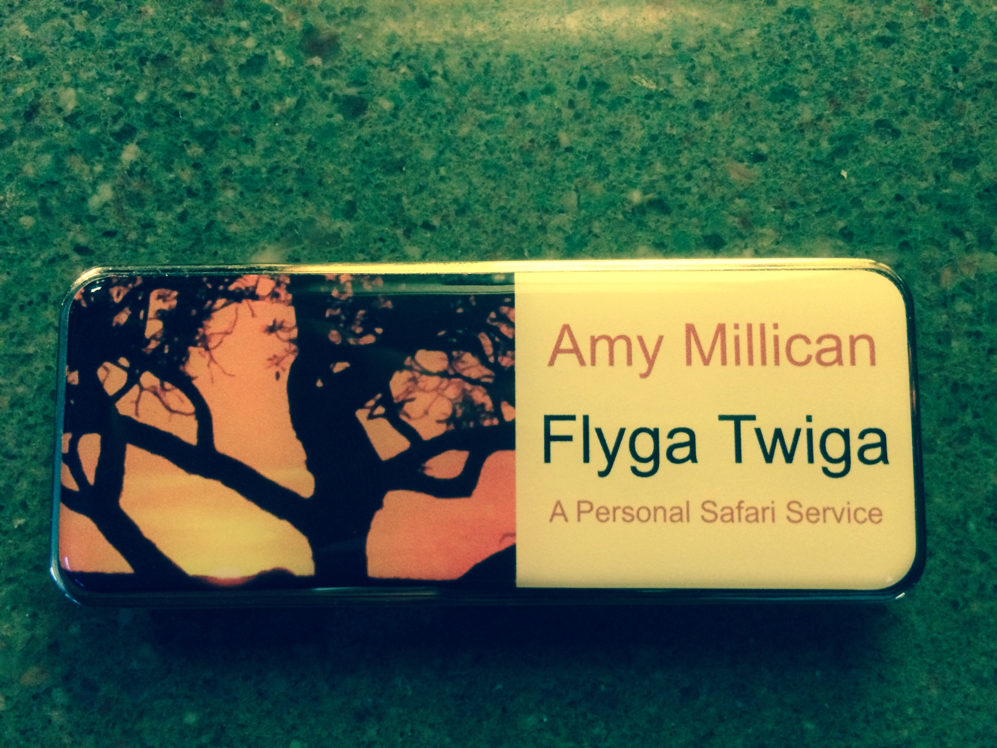 © Flyga Twiga LLC New Nametag
