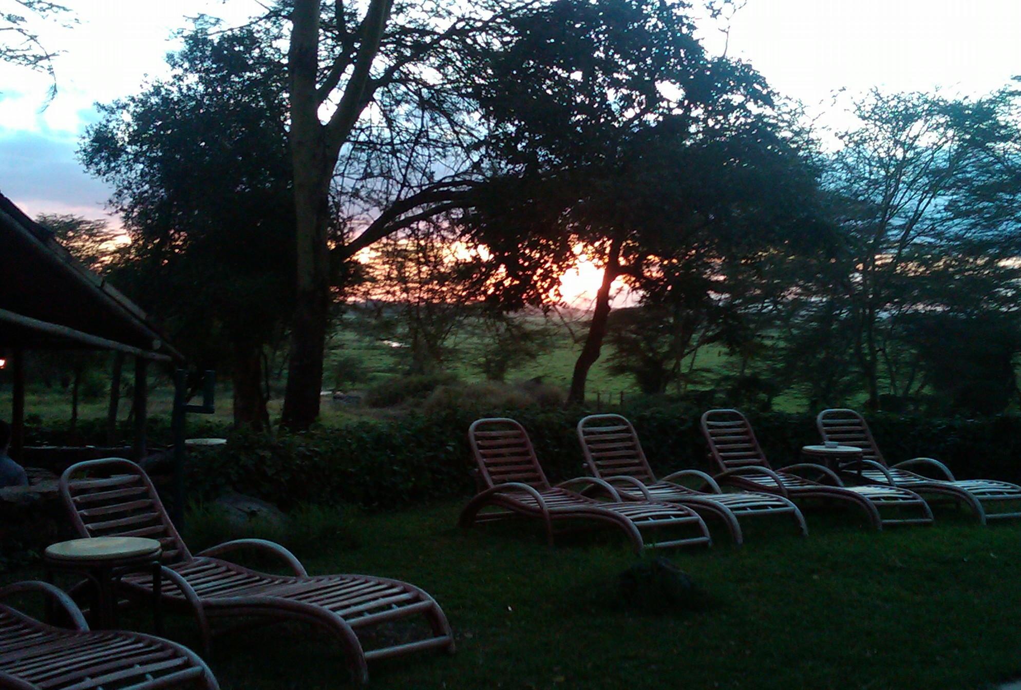 Sunrise at Serena Hotel, Amboseli National Park, Kenya 2014 © Flyga Twiga LLC