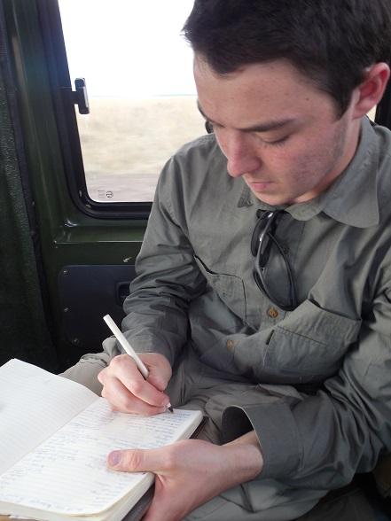 C. Ashby Neterer on Safari in Kenya ©Flyga Twiga LLC