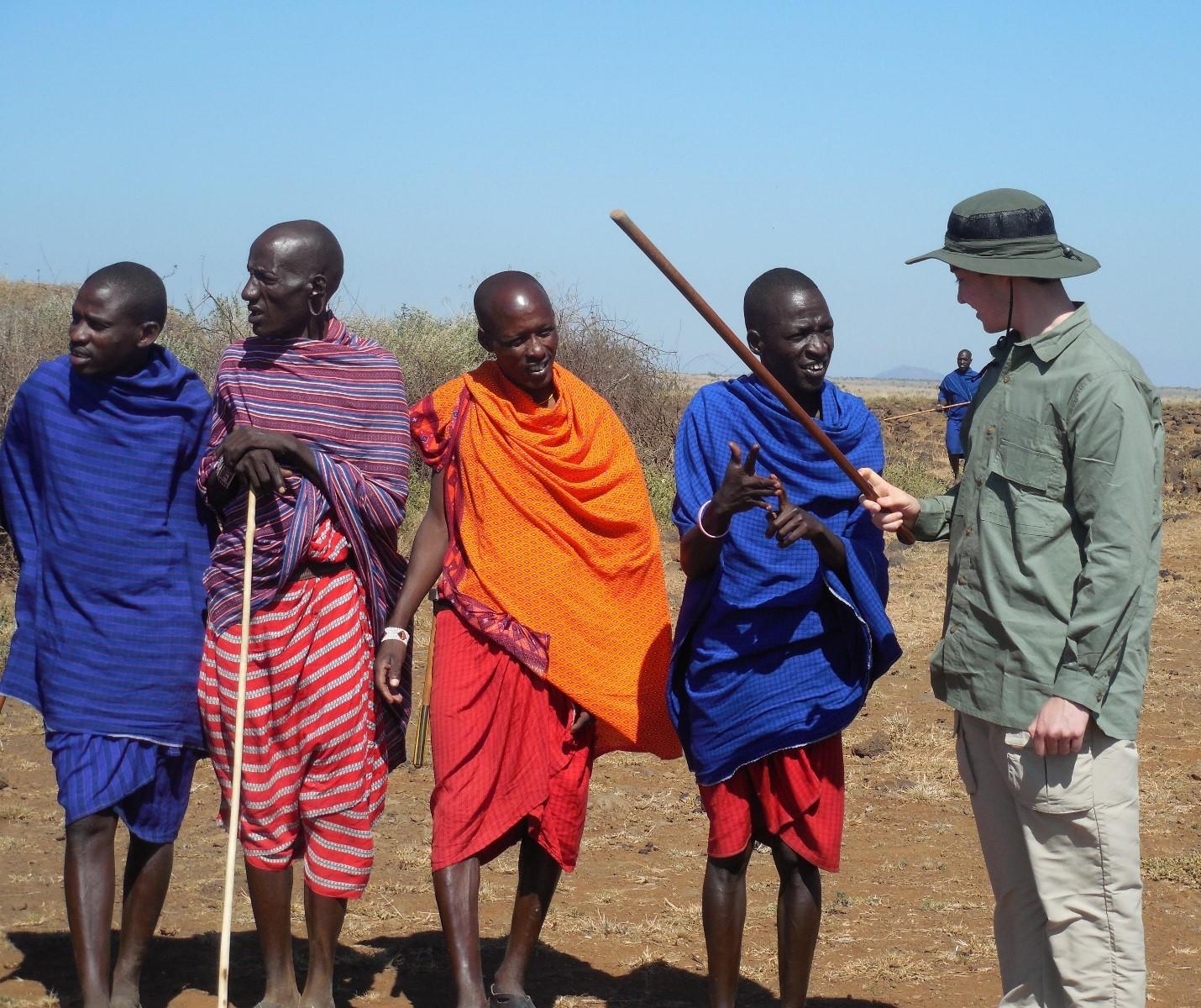 Maasai, Amboseli National Park, Kenya ©Flyga Twiga LLC