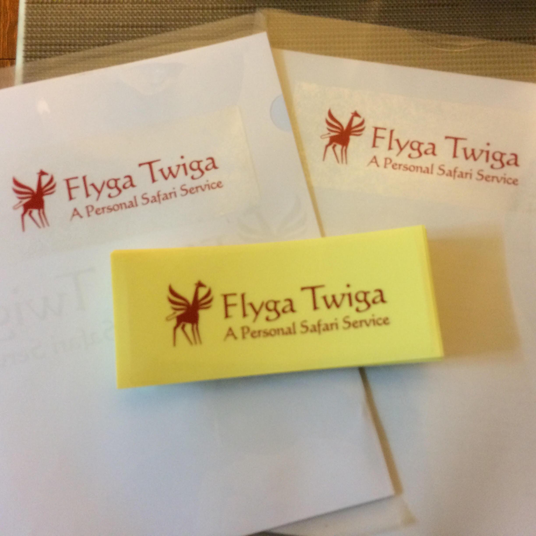 Flyga Twiga Stickers © Flyga Twiga LLC