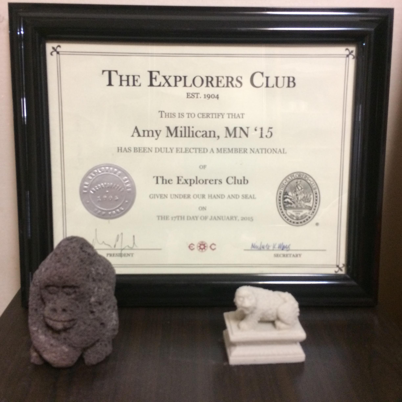 3 Year The Explorers Club Anniversary © Flyga Twiga LLC