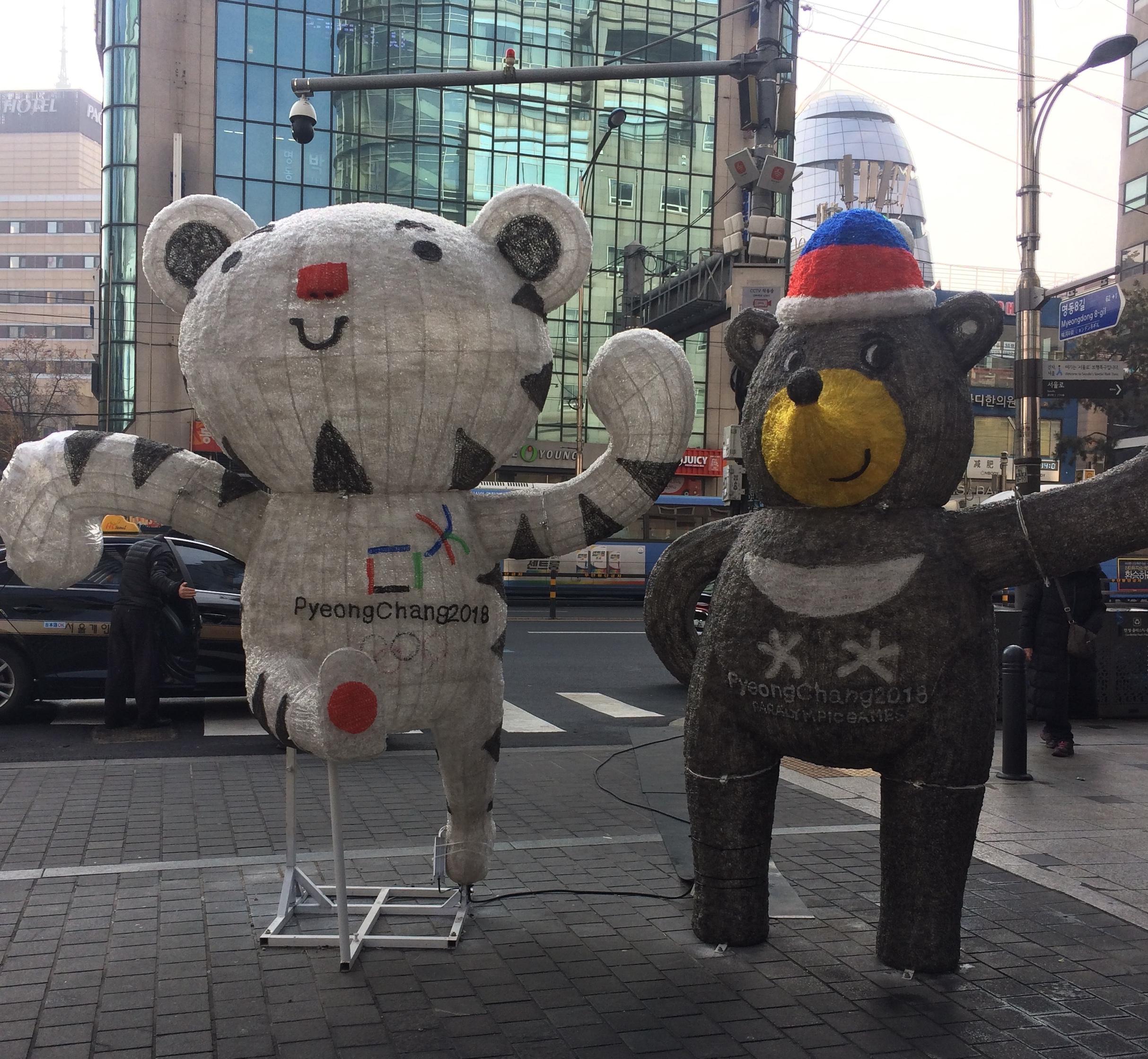 PyeongChang Olympics Mascots © Flyga Twiga LLC