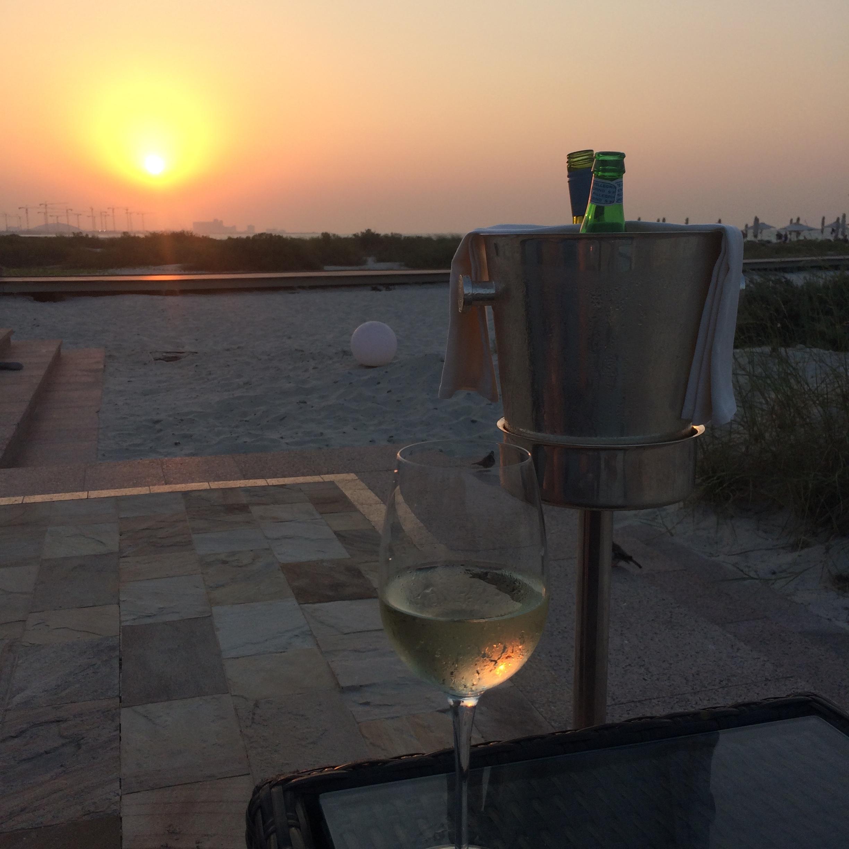 Sundowner Park Hyatt Abu Dhabi © Flyga Twiga LLC