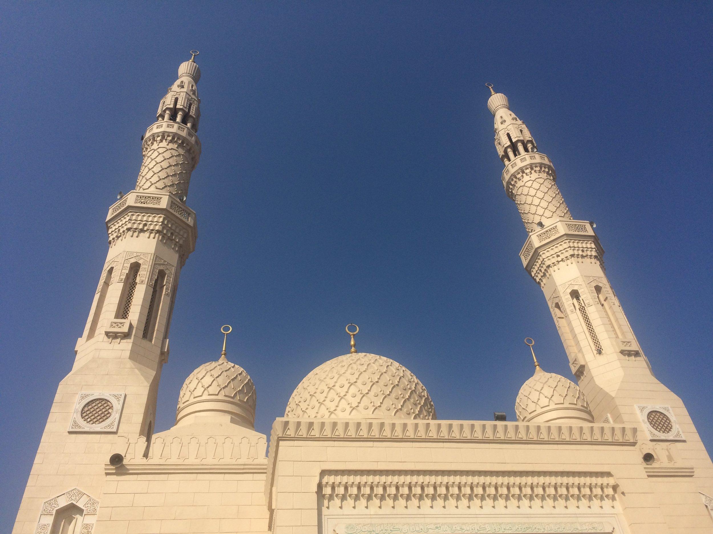 Jumeirah Mosque, Dubai, UAE © Flyga Twiga LLC
