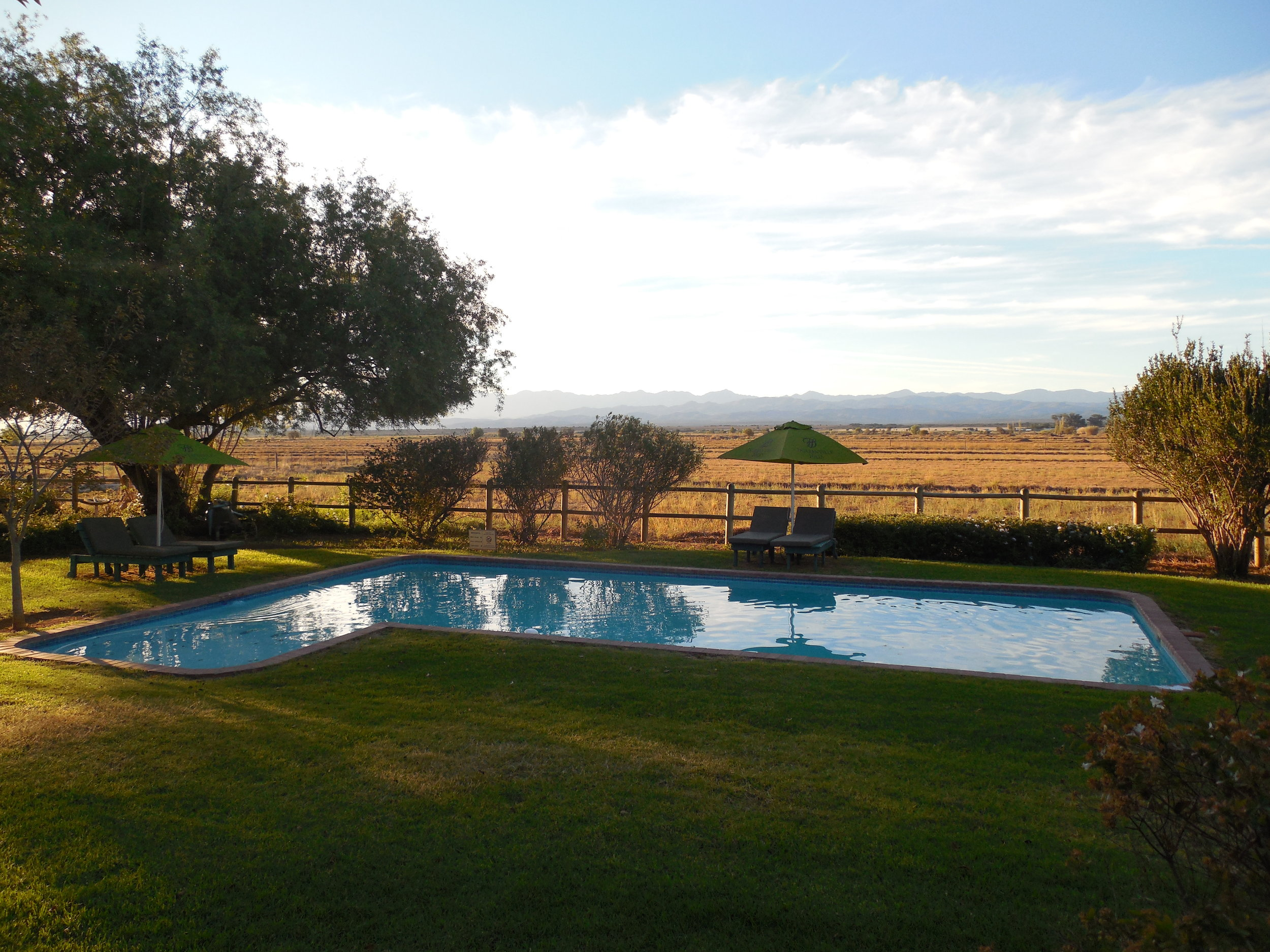 View From My Room at Mooiplaas Guesthouse II ©Flyga Twiga LLC
