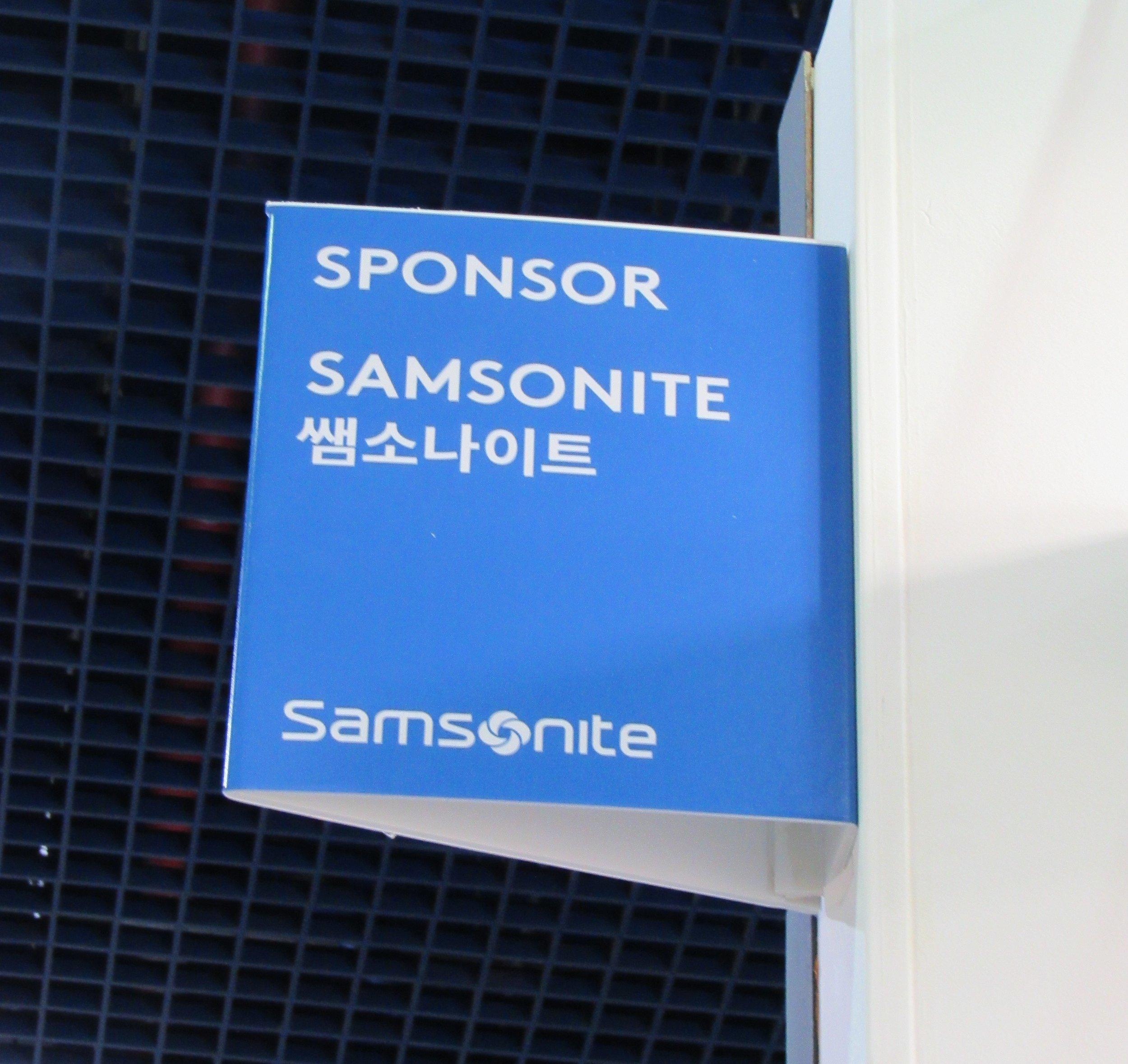 Samsonite Sponsor © Flyga Twiga LLC