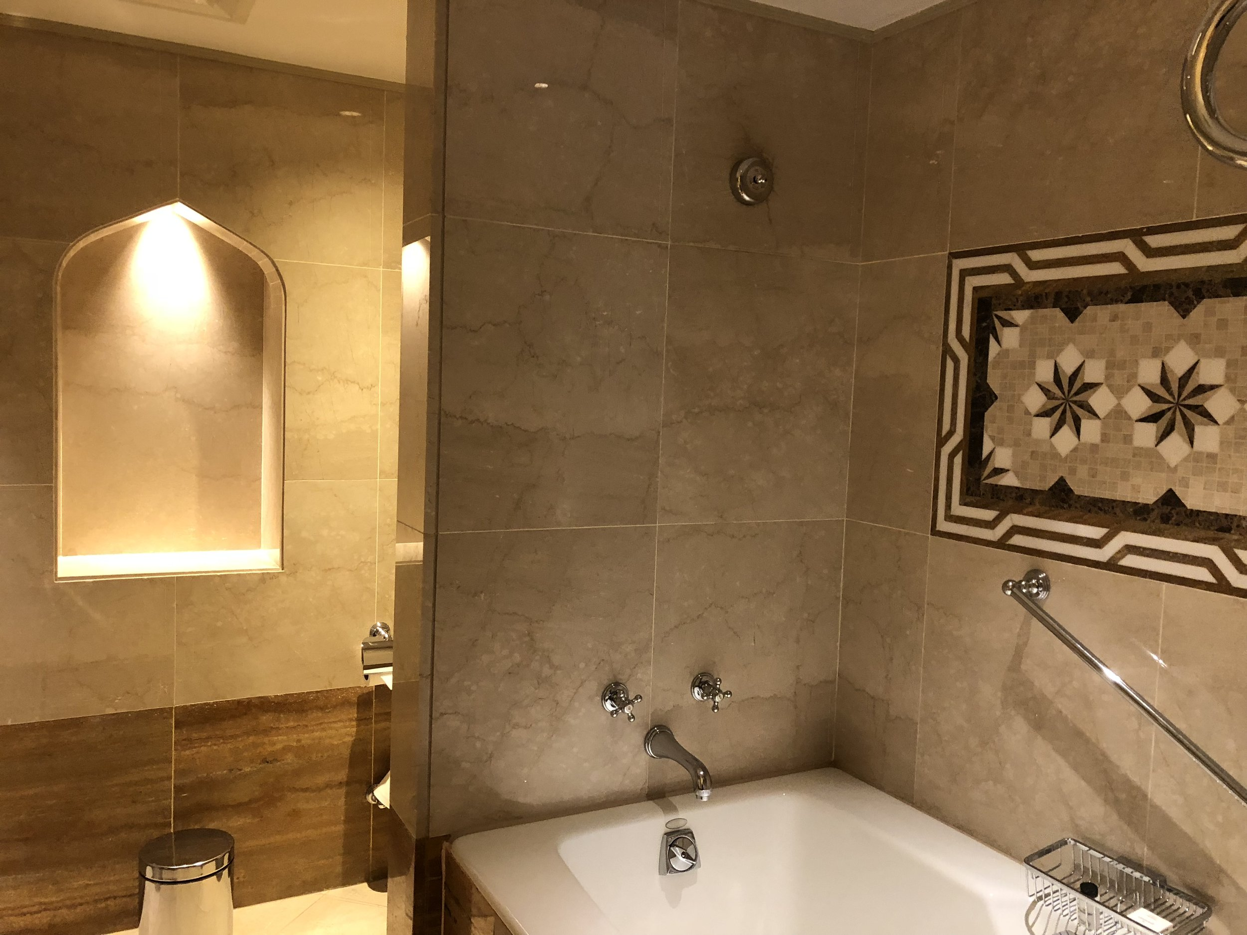Islamic Patterns and Design Bathroom Sheraton © Flyga Twiga LLC