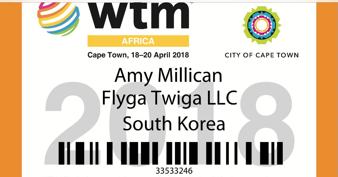 WTM Africa 2018 © Flyga Twiga LLC