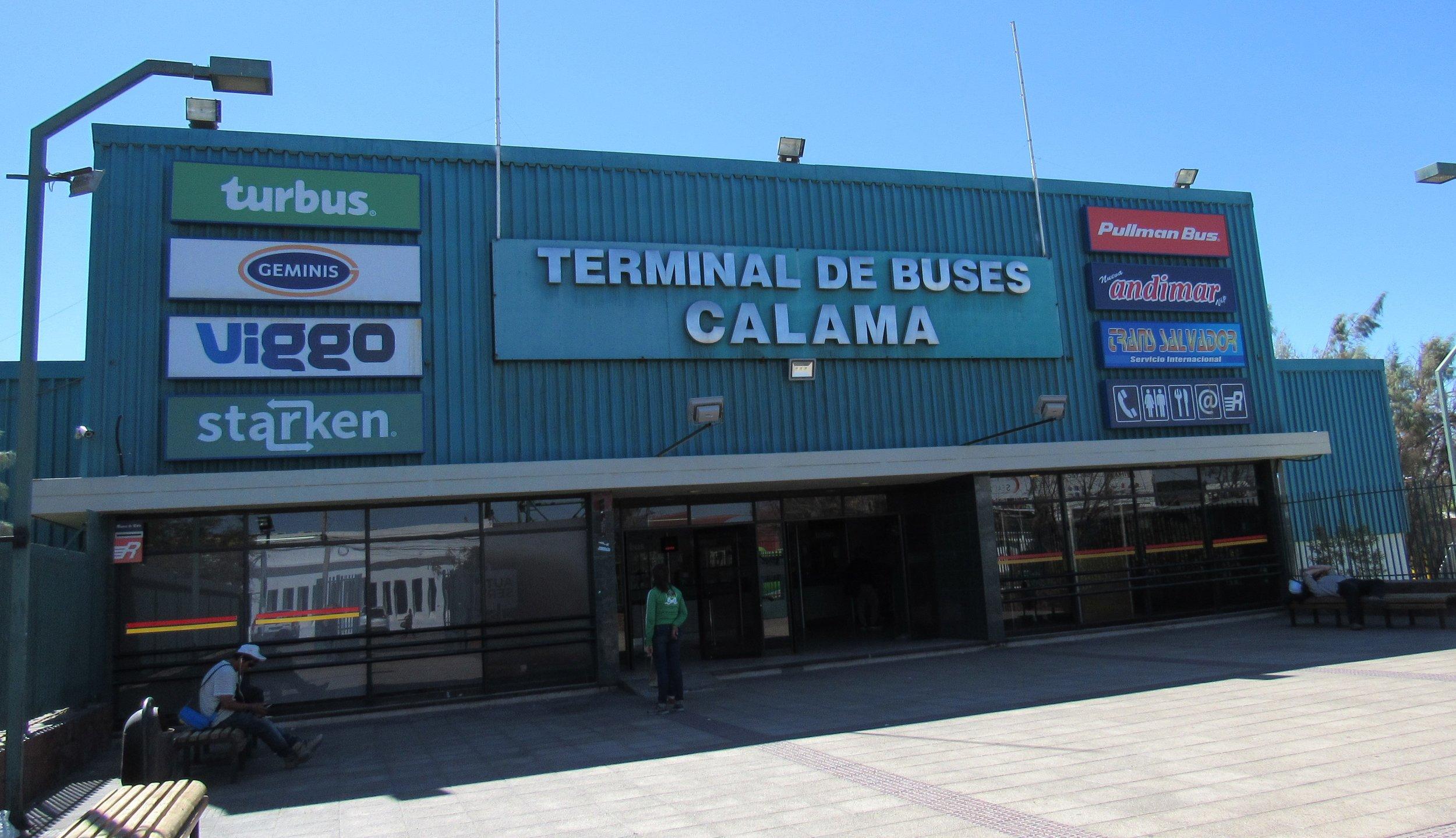 Calama Bus Terminal © Flyga Twiga LLC