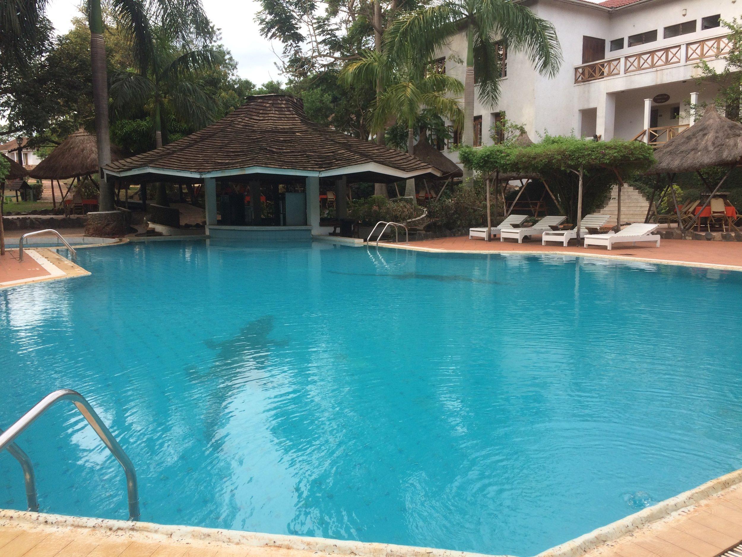 Pool in Uganda ©Flyga Twiga LLC