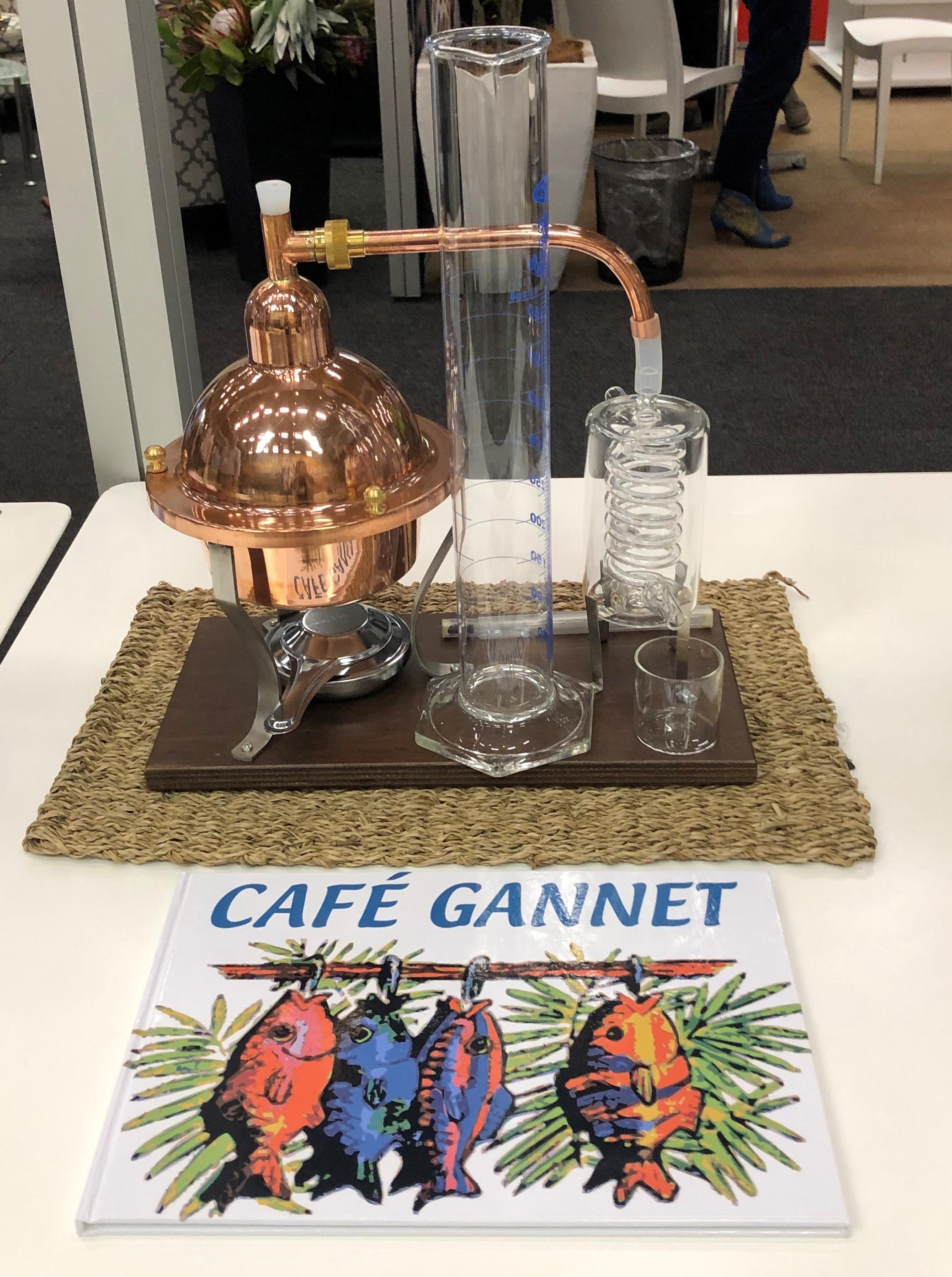 Café Gannet Gin School©Flyga Twiga™ LLC