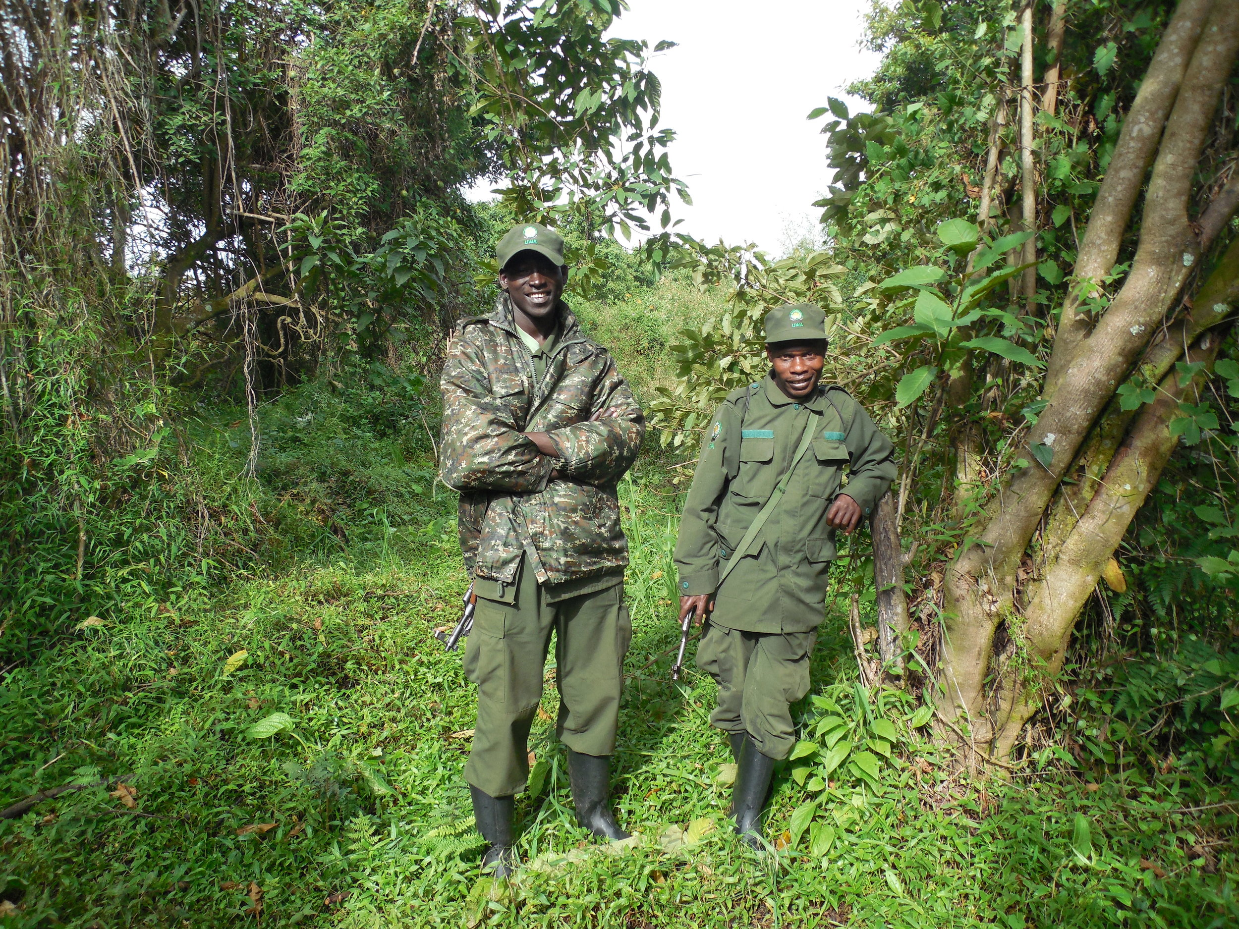 UWA Guard & Tracker Mgahinga Gorilla National Park ©Flyga Twiga™ LLC