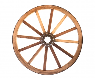 Christ is the hub, and the areas of my life are the spokes through which I declare Him to a watching world.