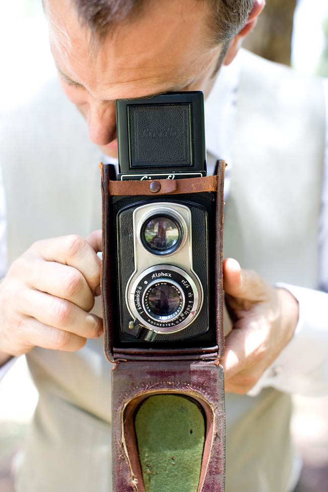 Vintage camera, photography by Katie Beverley.