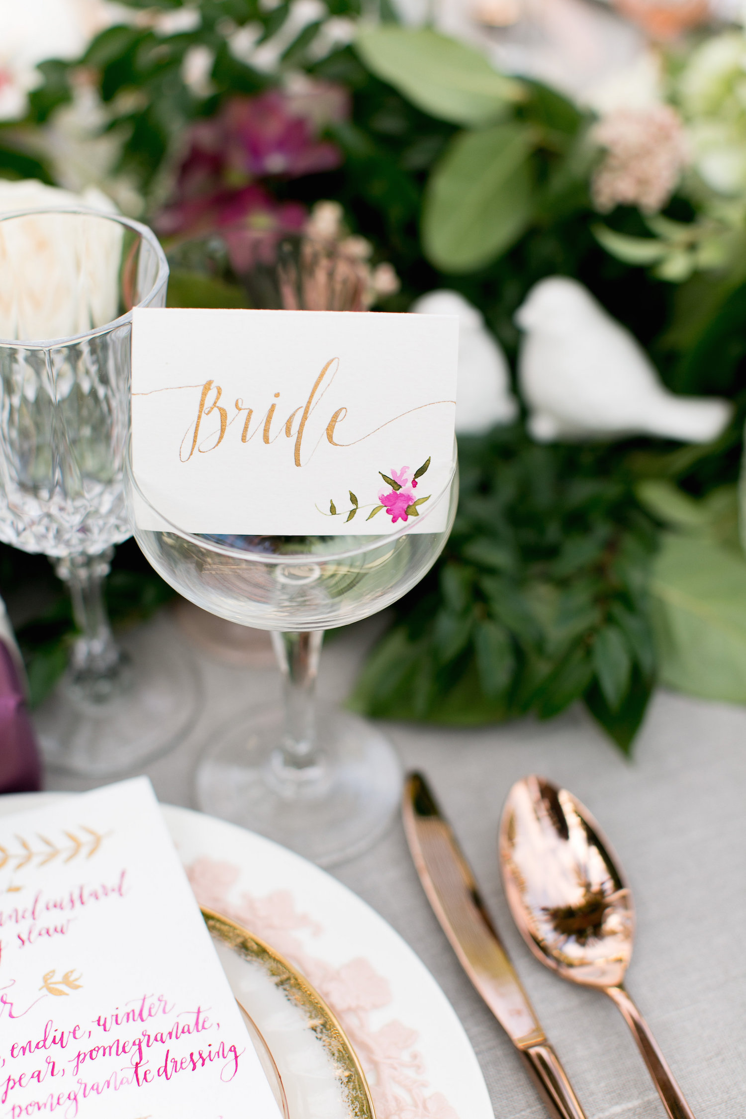 Wedding details by San Diego planner, Sweet Blossom Weddings.