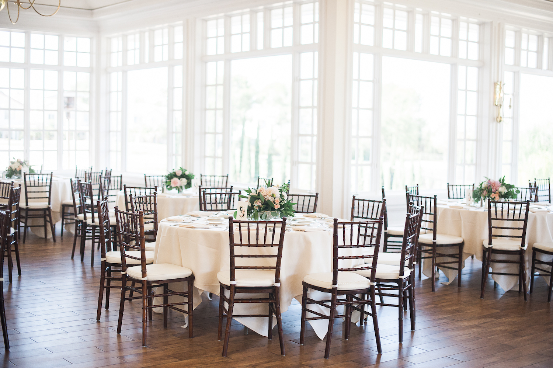 Carmel Mountain Ranch Country Club Blush & ivory, garden romantic wedding by San Diego wedding florist, Compass Floral.  Brandi Welles Photography.