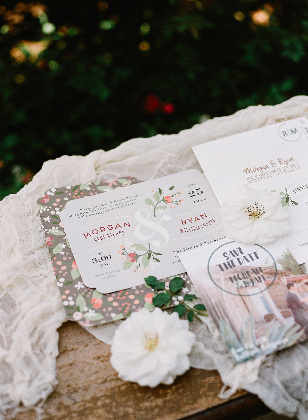 Wedding detail shot| Fallbrook Treehouse | Compass Floral | Wedding Florist in San Diego and Southern California | Allie Lindsey Photography