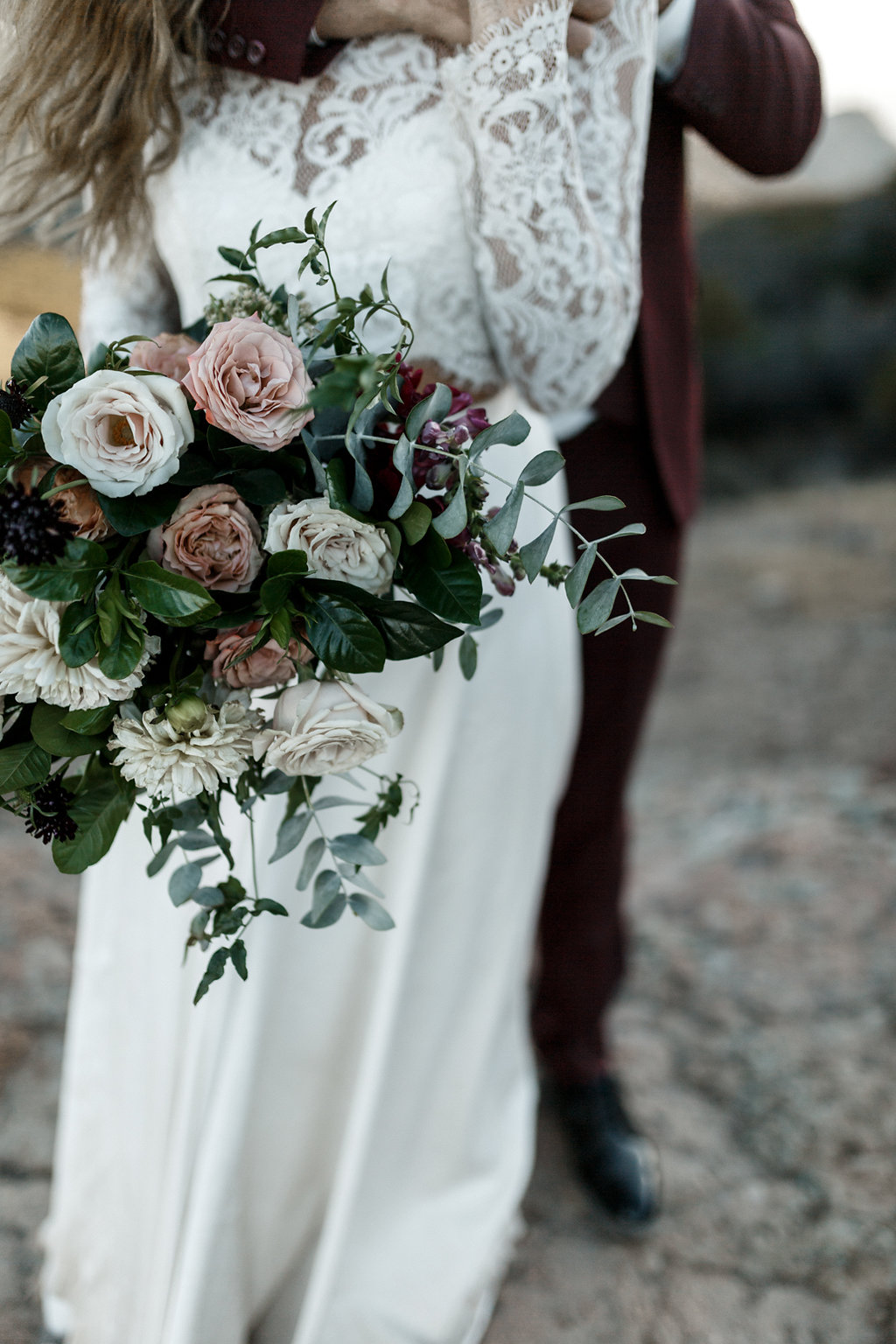 Ivory, marsala & mauve bridal bouquet | Malibu Weddings | Compass Floral Design | Wedding Florist in San Diego and Southern California | Devin Jenkins Photography #elopement   #elopementinspiration  #wedding   #weddinginspiration   #bohowedding   #bohemianwedding   #weddingceremony   #outdoorceremony  #sandiegoweddingflorist   #ojaiweddingflorist   #santabarbaraweddingflorist  #romanticweddingflowers   #bridalstyle  #weddingfashion
