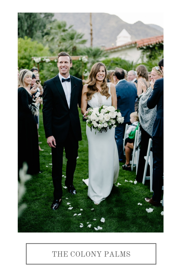 Old Hollywood inspired, classic green and white wedding | Colony Palms Weddings | Compass Floral | Wedding Florist in San Diego and Southern California | John Schnack Photography