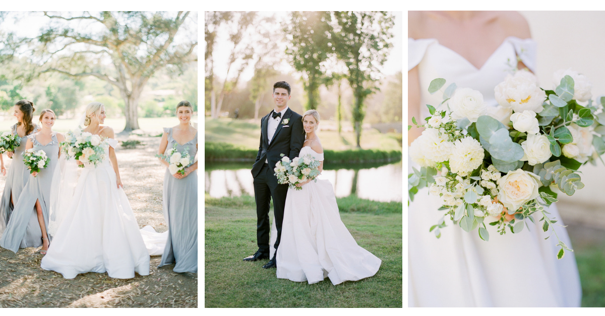 Elegant, black tie wedding in San Diego | Rancho Santa Fe Golf Club | Compass Floral | Wedding Florist in San Diego and Southern California | Rachael McCall Photography