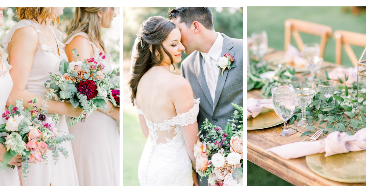 Fine art wedding photography and flowers | Temecula Creek Inn | Compass Floral | Wedding Florist in San Diego and Southern California | Pauline Conway Photography