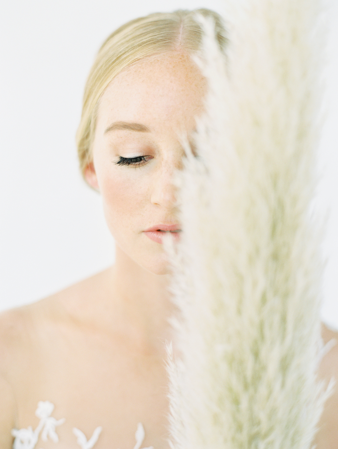 Soft natural makeup | Studio 710 | Compass Floral | Wedding Florist in San Diego and Southern California | Dear Lovers Photography