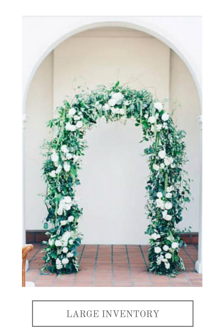 Flower covered arch   Compass Floral   Wedding Florist in San Diego and Southern California