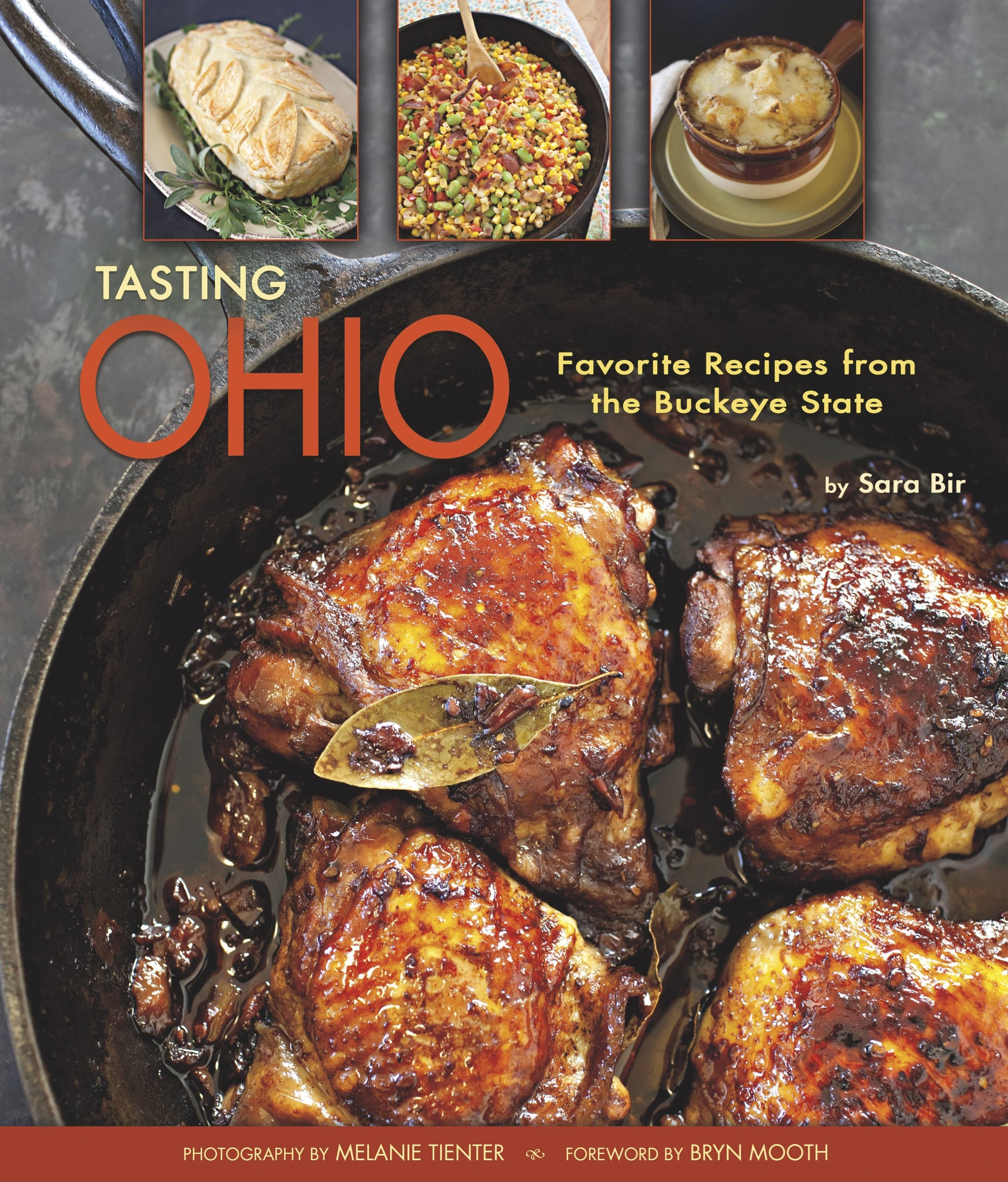 Over 100 recipes from chefs, bed & breakfasts, and food producers all over Ohio. Click on the cover to order. -