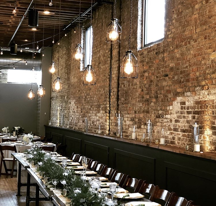 Mercantile Hall - Check out our industrial chic event venue. a space that can be transformed into anything from vintage, modern, rustic or artsy. Gorgeous brick walls and honey-toned hardwood floors give you just the right blend of historic and fabulous to make your event fabulous.Book a tour: 262.758.6280click here for more info>>>