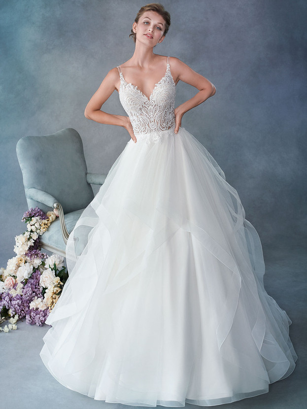 Kenneth Winston gowns are elegant, playful and details can be customized to create the gown of your dreams.