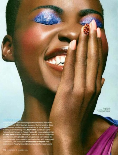 Lupita in Essence Online's March Hollywood issue.