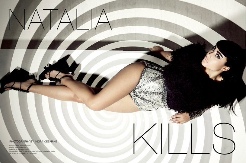 Natalia Kills wears The Blonds and Katrin Schnabl Collection in Issue # 6 of The Untitled Magazine