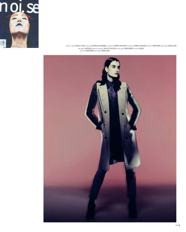 """Beyond The Horizon"" editorial in Issue #30 of Noi.se Magazine"