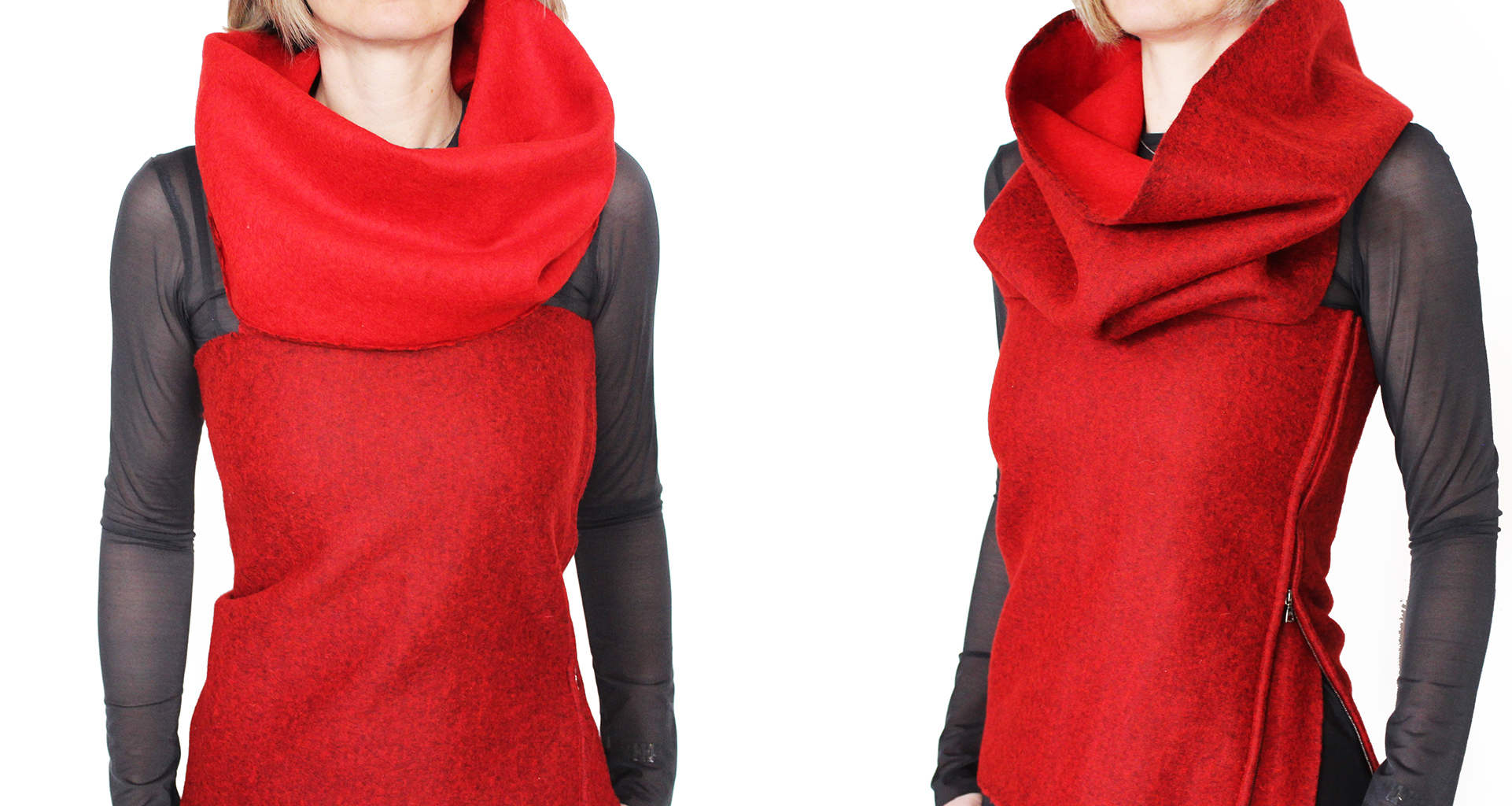 The Wide Collar & The Cowl