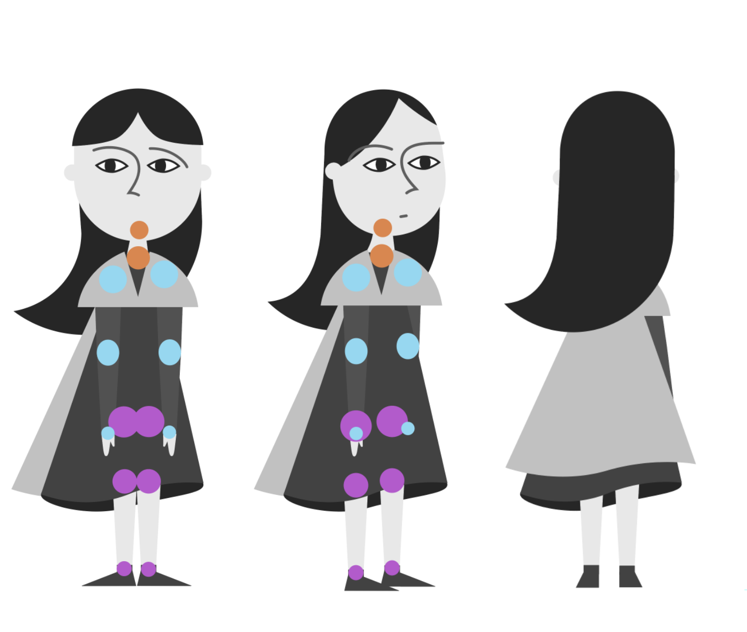 Character rigging for DUIK