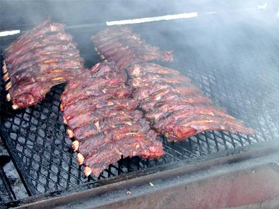 The BBQ sauce on these ribs is the villain here...not the ribs themselves.