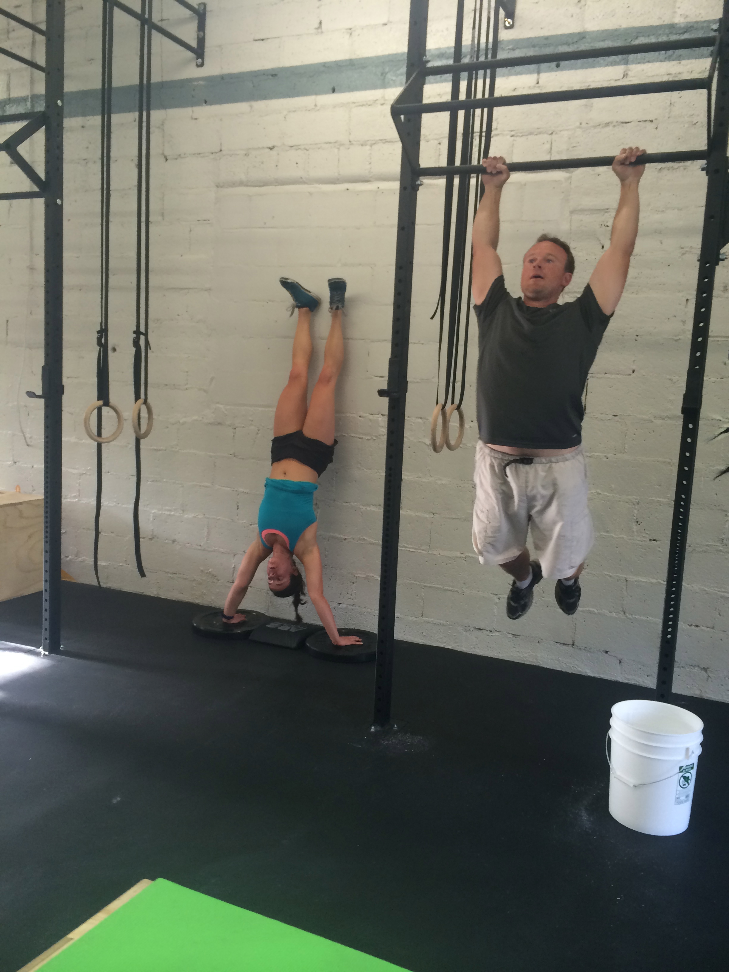 Eric was in the original Starting Line crew and has recently turned into a pull-up ninja.
