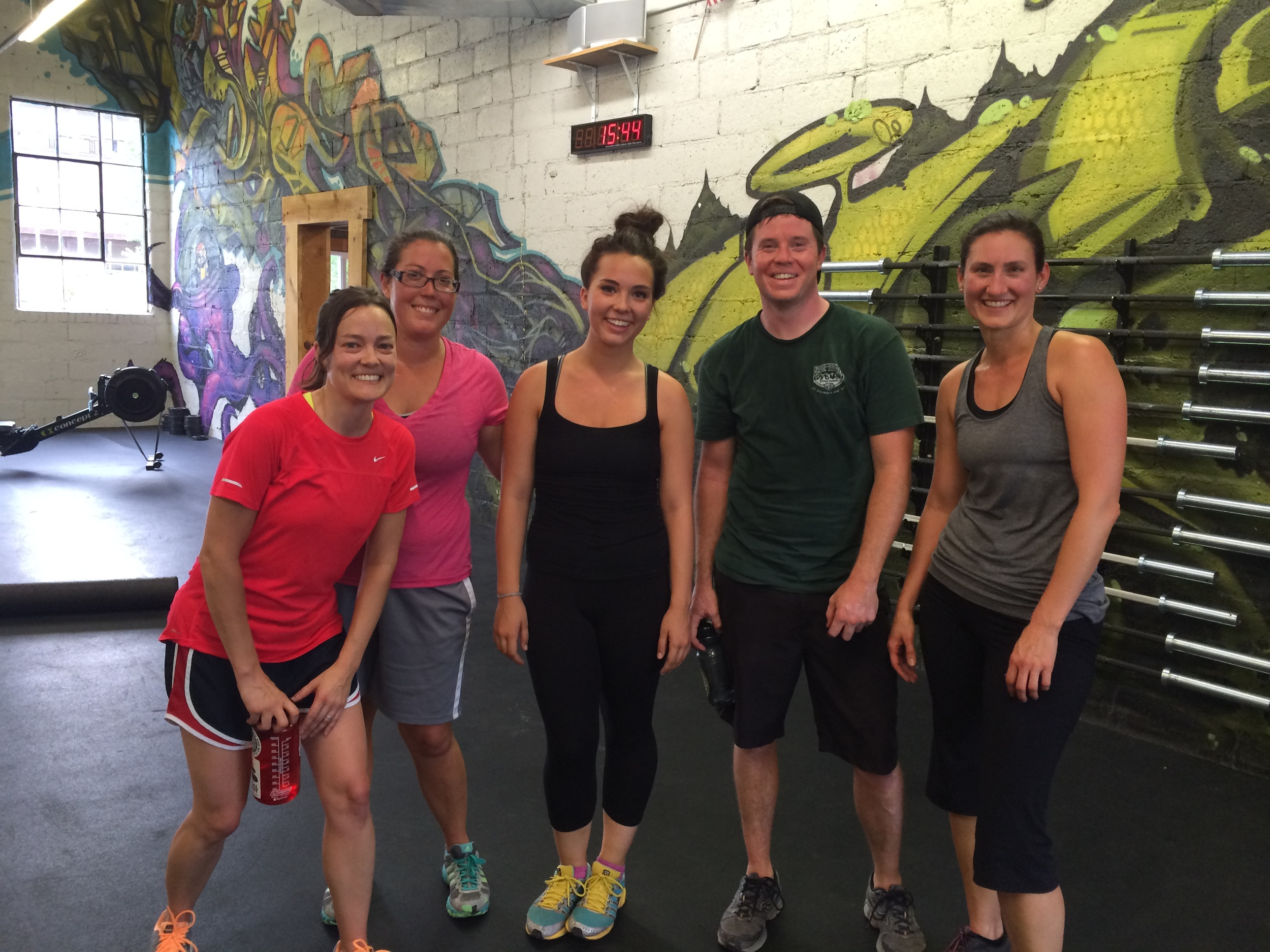 Amy, Dianne, Sophie, Matt, and Rosaleen just finished Starting LIne and are all hitting regular WODs these days. Make sure you introduce yourself when you see them in class.