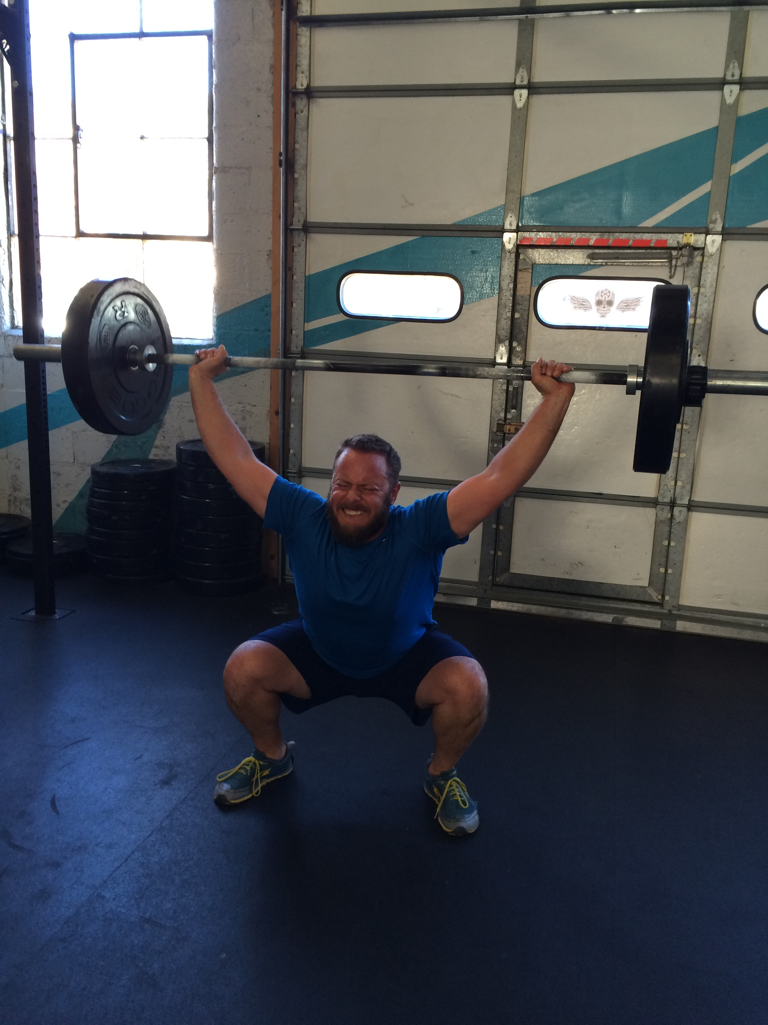 Robin throwing down some serious snatches this week.