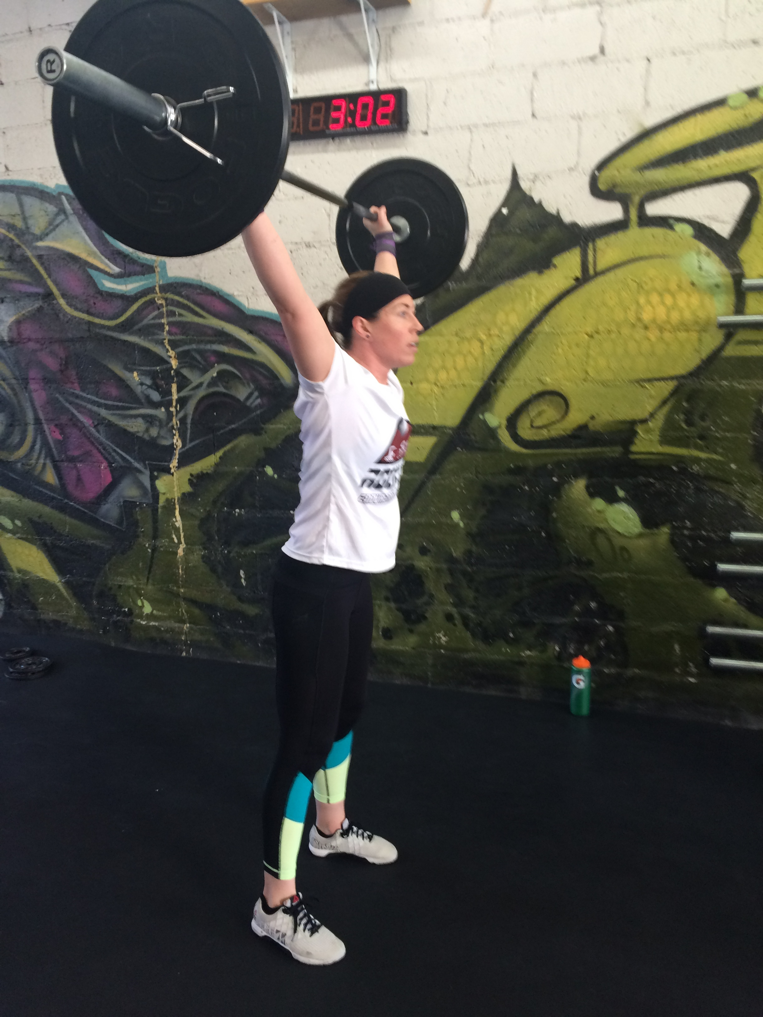 Karen is new to Catacombs, but she is a seasoned CrossFitter who has specialized in mobility for years. She is leading the Mobility Clinic.