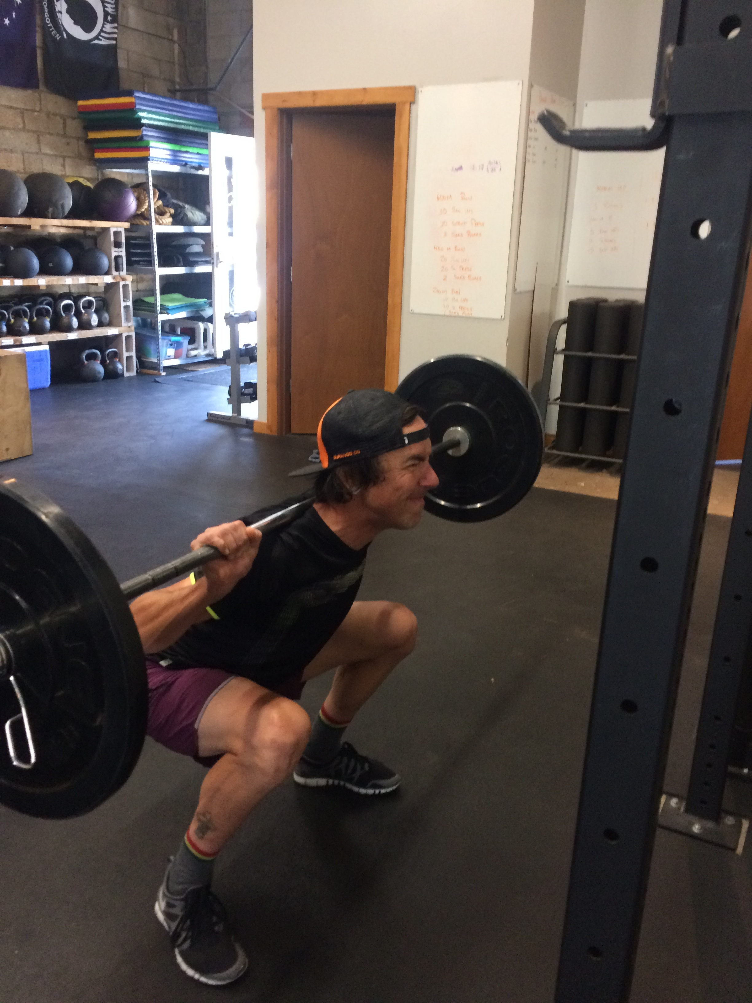Nick is a pro mountain bike racer who knows that back squats equal better race results.