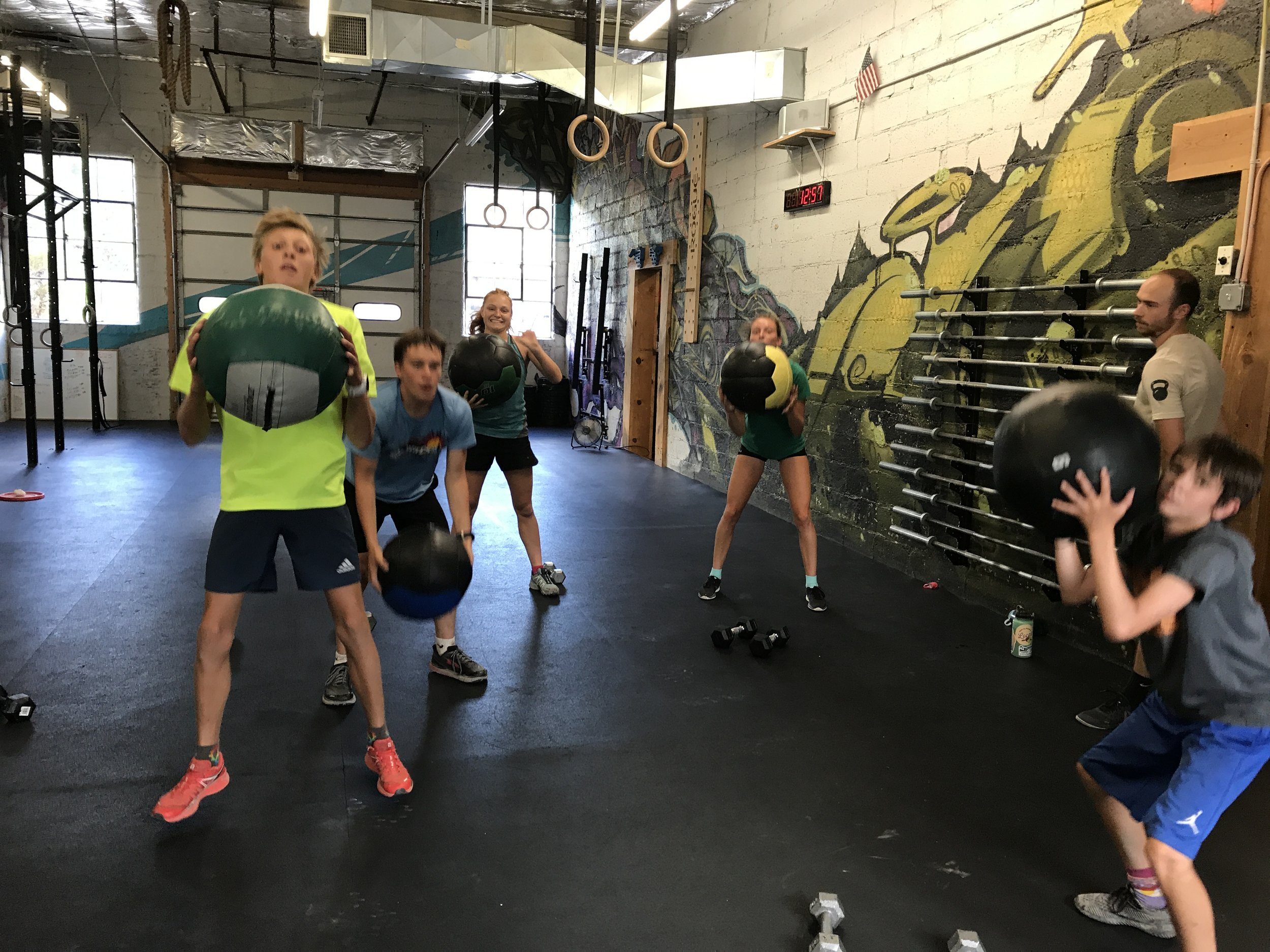 The Durango Nordic Ski Team and the Durango High School Cross-Country Team have been hitting some tough off-season training this summer. These are some MOTIVATED kids.