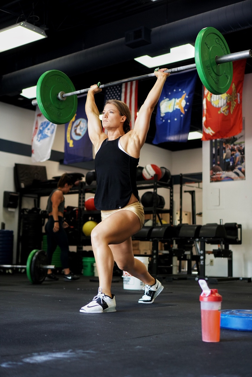 This is Coach Alye. And this is a clean and jerk.