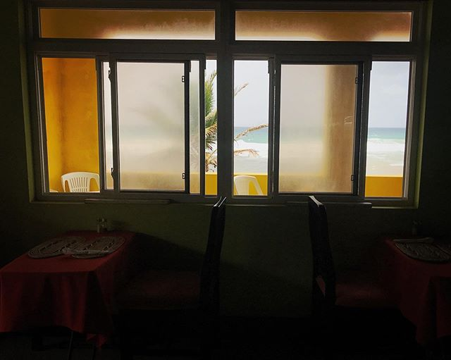 Dining with a view #Barbados