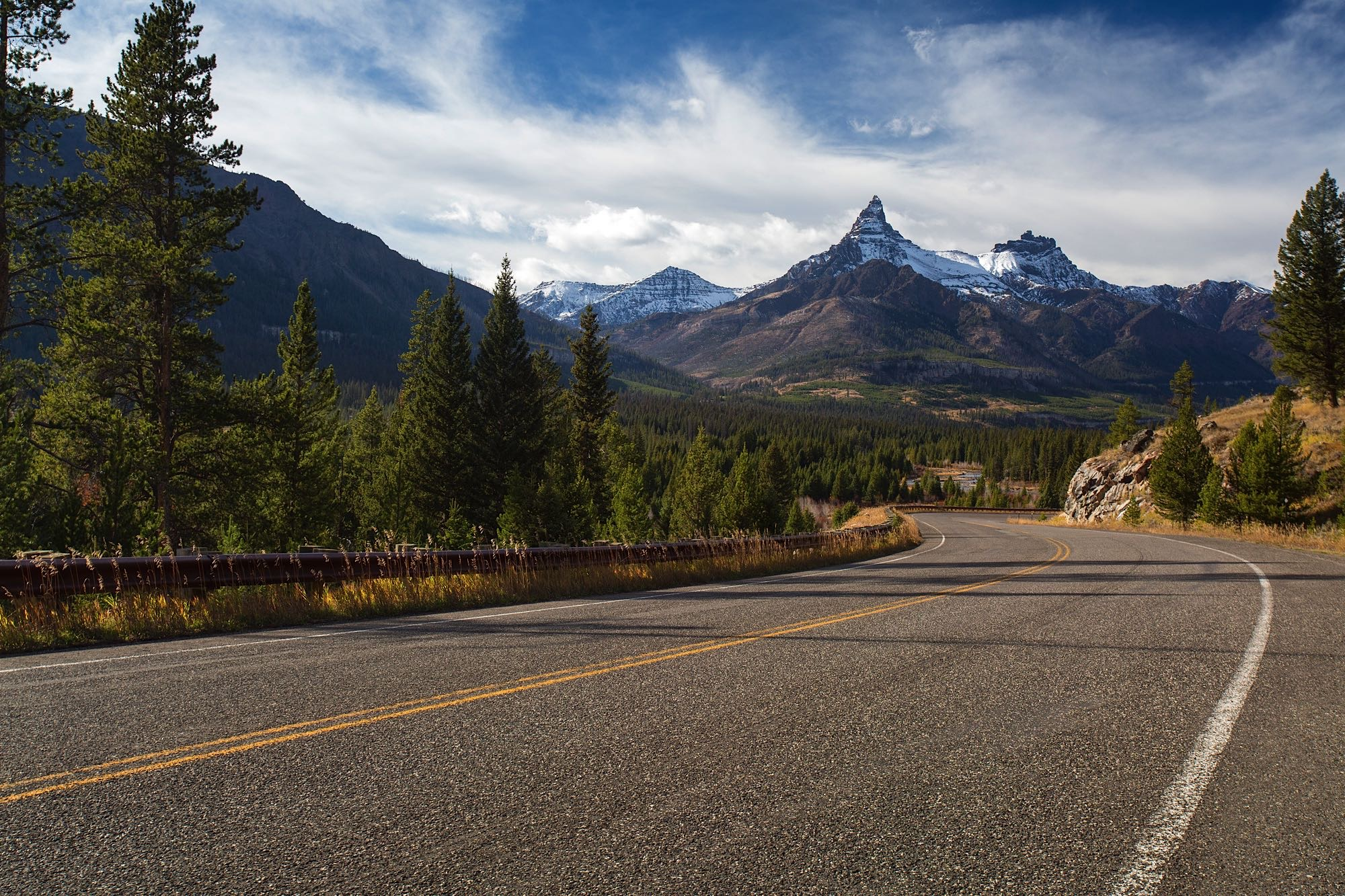 This pic is not of Glacier NP, but it is of the road that will lead us there :)