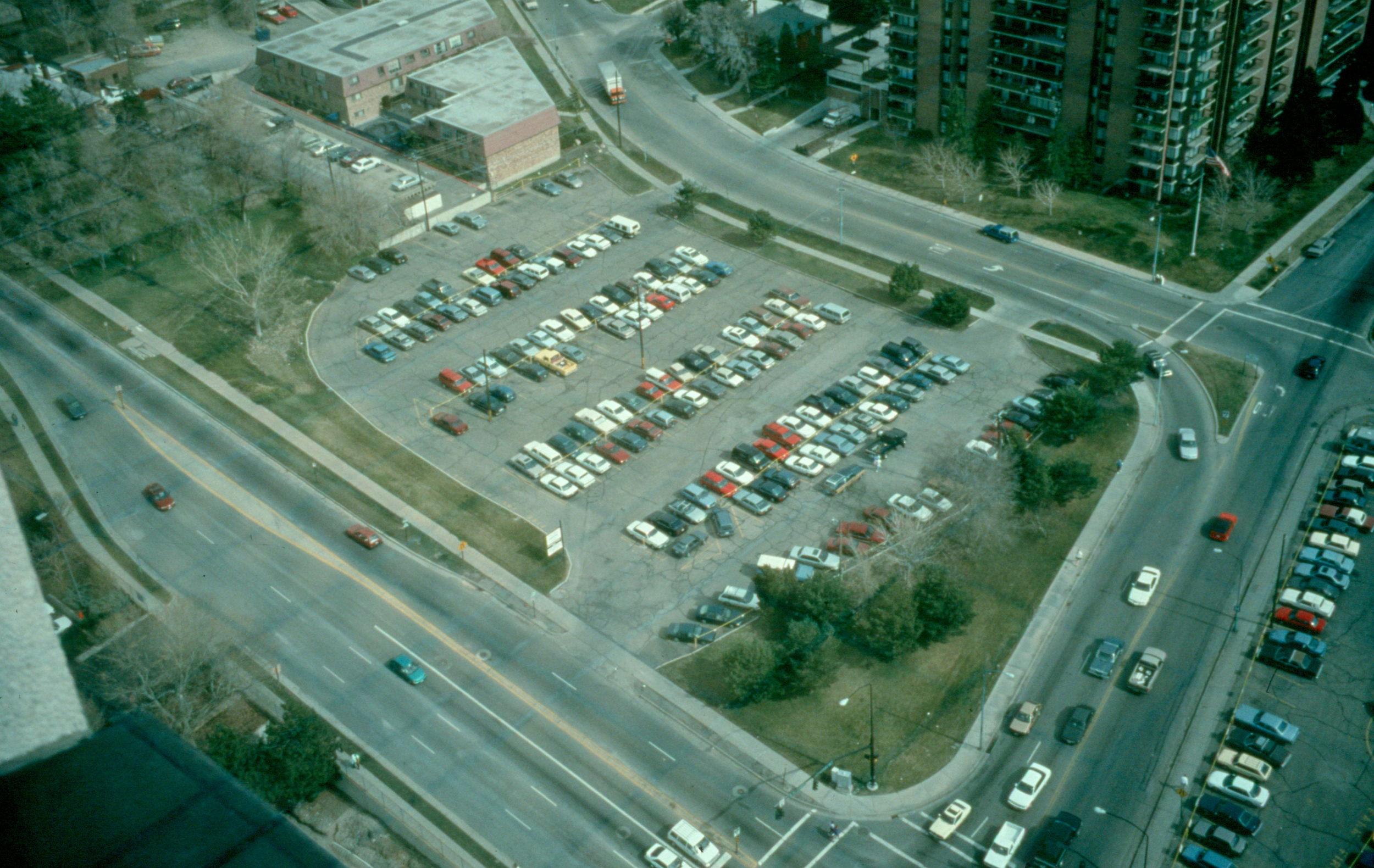 City Creek Park, before.