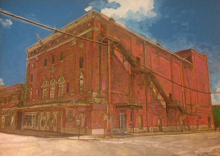 Sanger Theatre, Pine Bluff   John Kushmaul