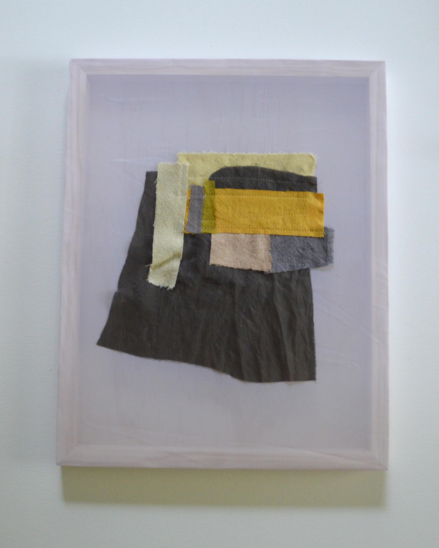 Sofia Gonzales   N. Tyler St. Hillcrest, AR   Raw Silk dyed with Onion, Sumac, Oak Gall, Black Bean and Avocado